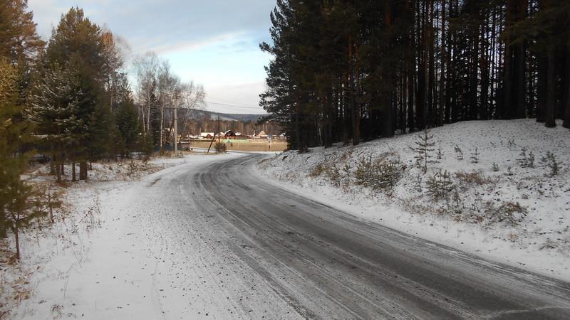 зима в пригородах