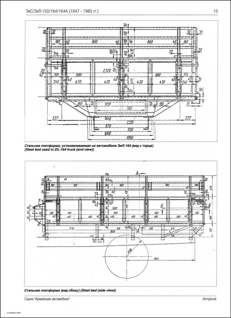 Армейские автомобили - ЗиС_ЗиЛ_150_164-17