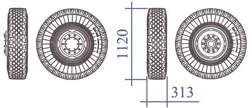 ИЯВ-12Б размеры