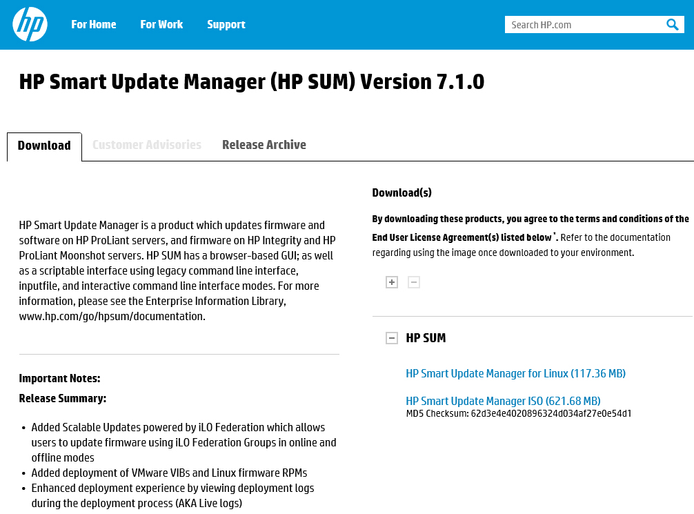 Hp Smart Update Manager Iso