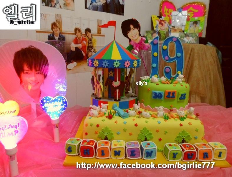 bgirlie's Chinen Yuri 19th Birthday's Cake Daylight Version.