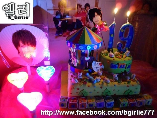 bgirlie's Chinen Yuri 19th Birthday's Cake Night Version