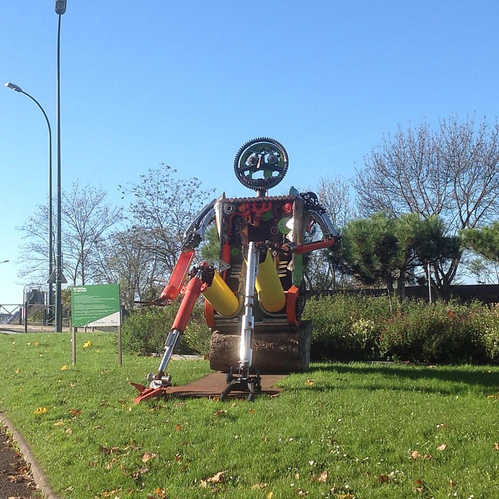 robot du rondpoint 1