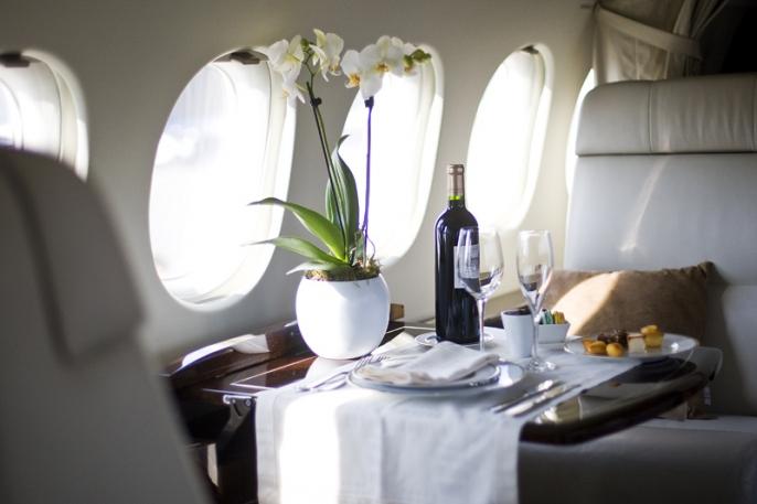 Салоны самолетов, на которых летают богатейшие люди страны