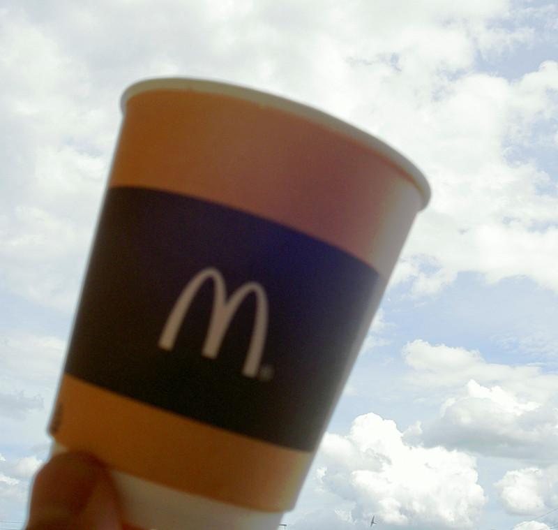 макдональдс комбо с кофе