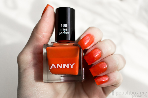 Anny 166 Miss Perfect Swatch 2