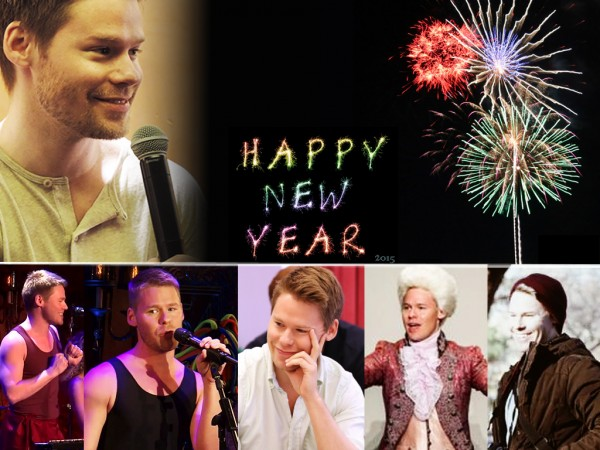 Randy Harrison Spain- Happy New Year 2015