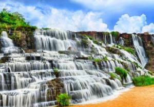 водопад пунгур