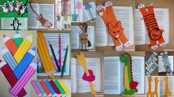 Из бумаги закладки своими руками для книг