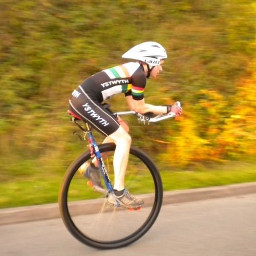 Как сделать одна колесный велосипед