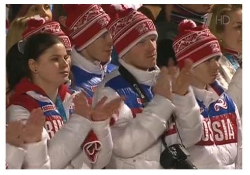 паралимпиада 2014 флаг тв 6 марта торжество открытия
