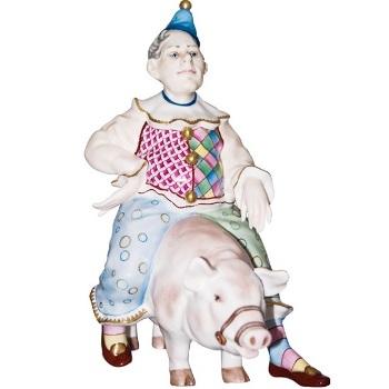 хохлы клоун свинья