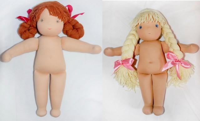 Кукла своими руками из колготок с выкройкой