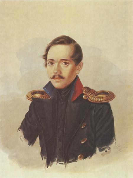 Лермонтов-после-возвращения-из-первой-ссылки.-1838-год