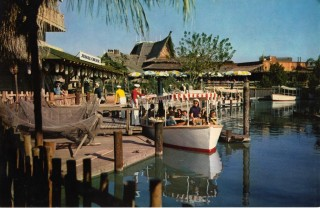 Disneyland Jumbo Postcard J-6A