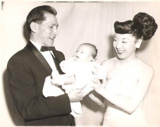 me& mom & dad