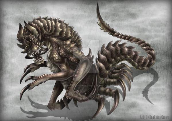 alien_monster_design_by_drakainaqueen-d5gwm06