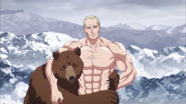 Путин аниме