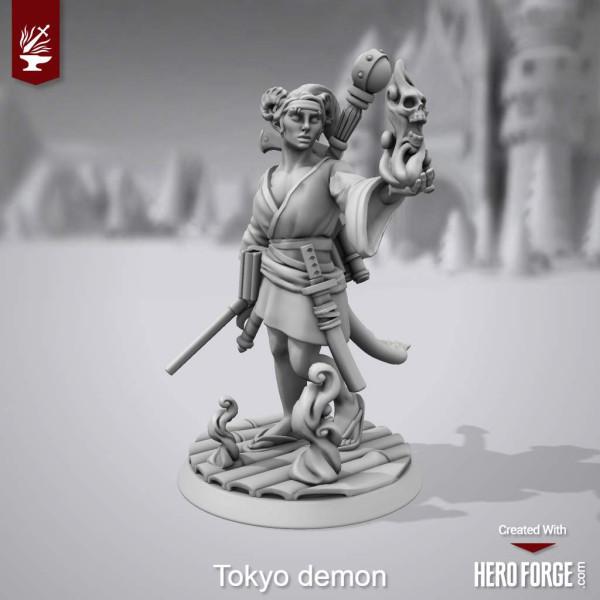 demon left
