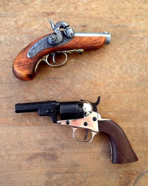 pocket and derringer