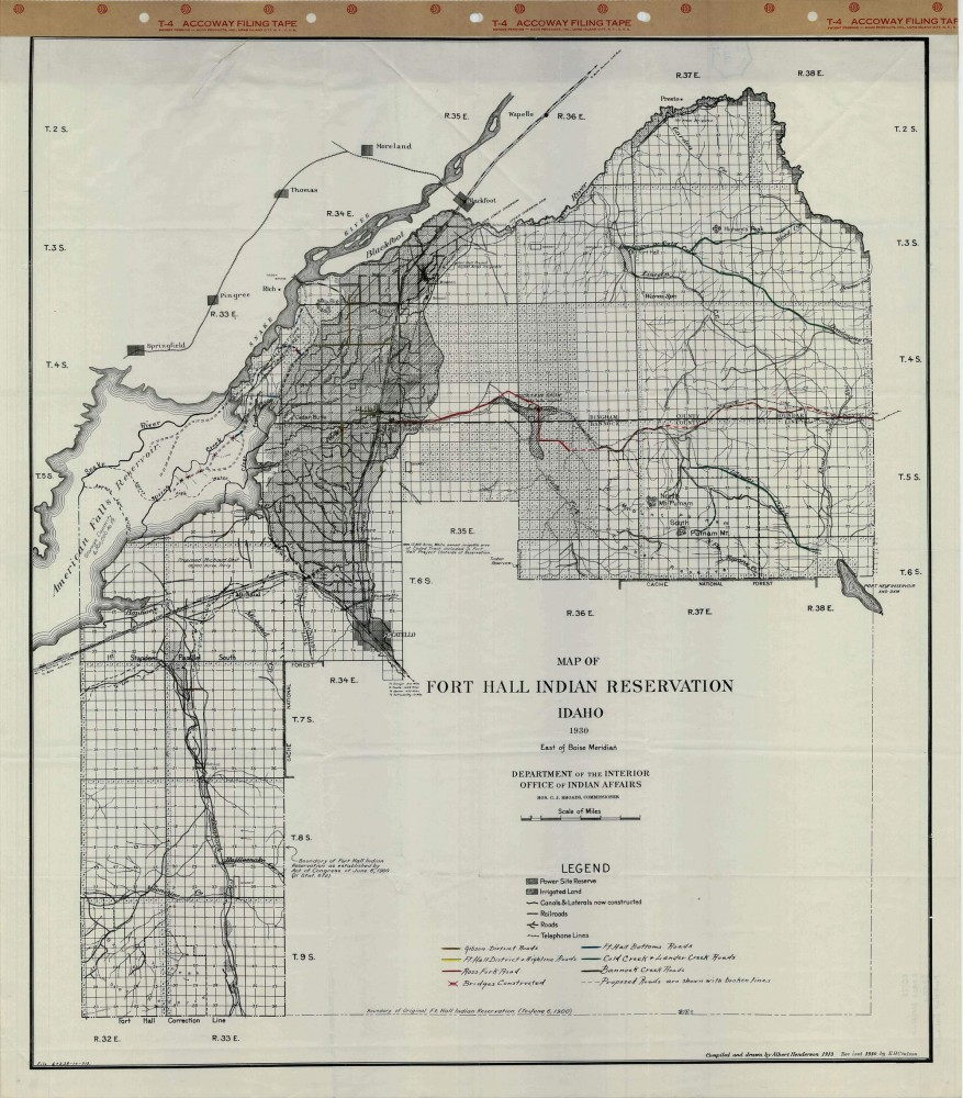 reservation map