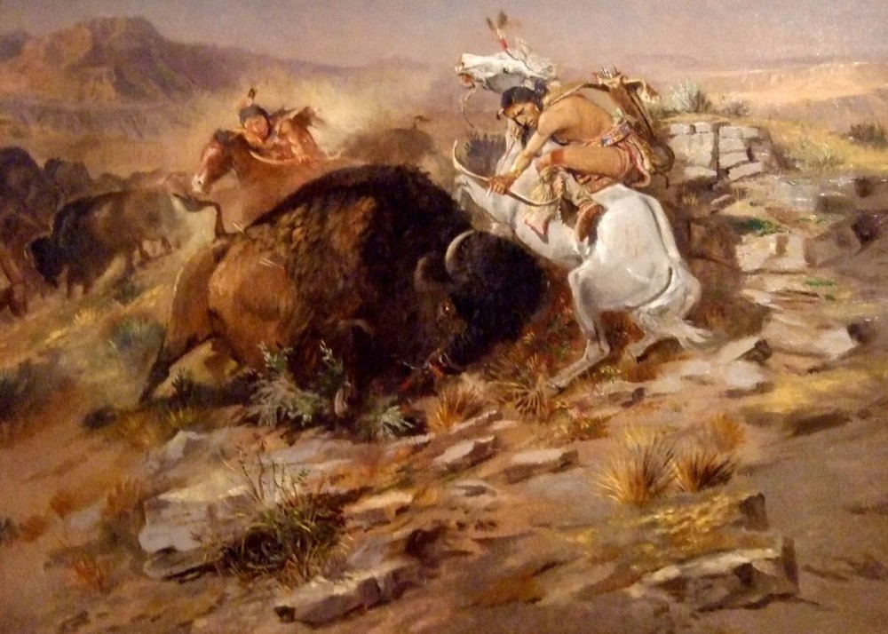 Charles_Marion_Russell_-_Buffalo_Hunt