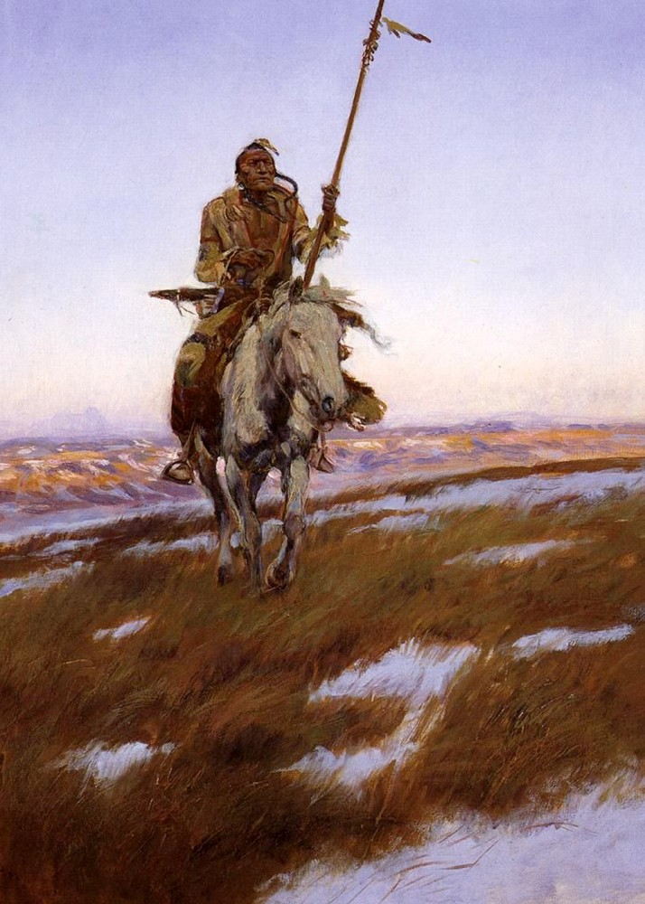 Charles_Marion_Russell_-_Cree_Indian