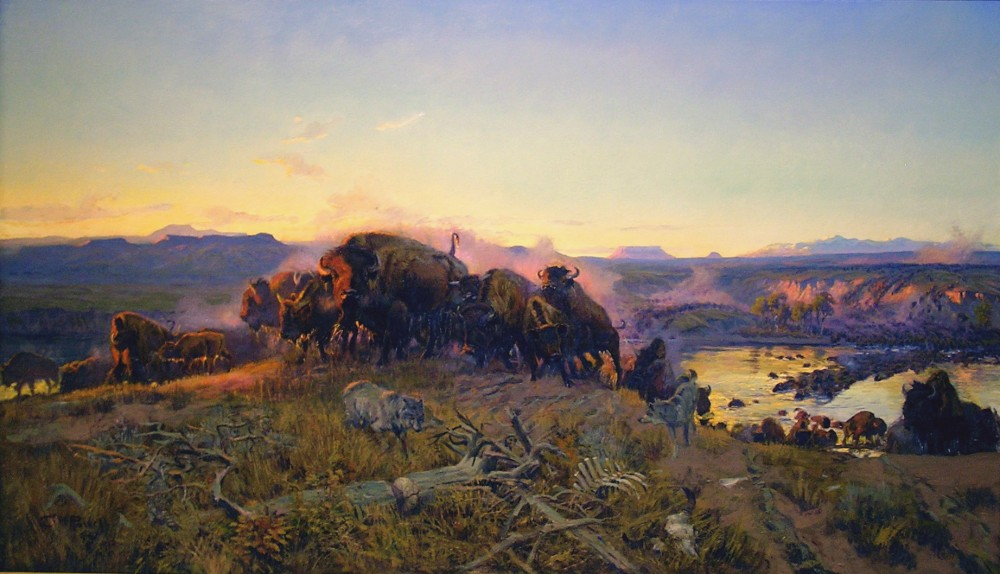 When_the_Land_Belonged_to_God_by_C.M._Russell