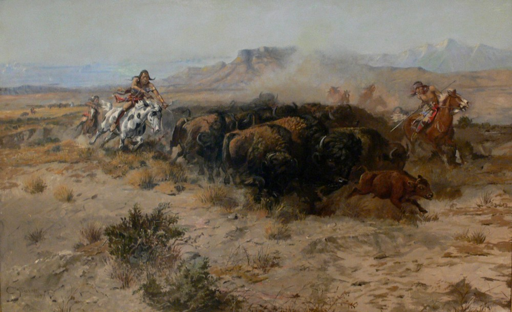 Russell_The_Buffalo_Hunt_No_26_1899