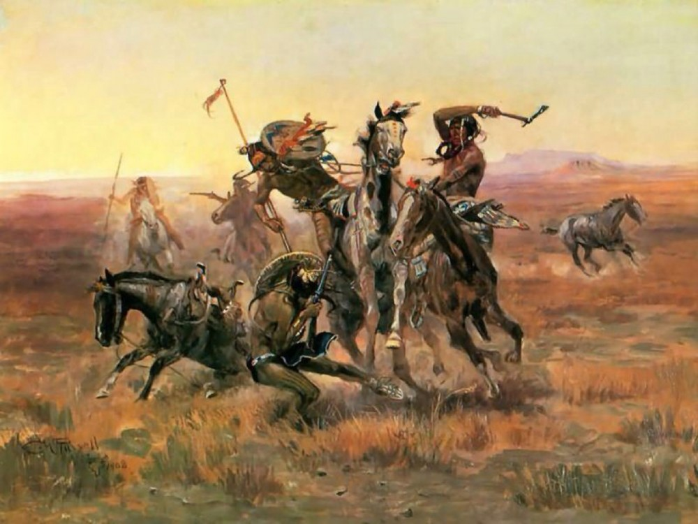 When Blackfoot and Sioux meet