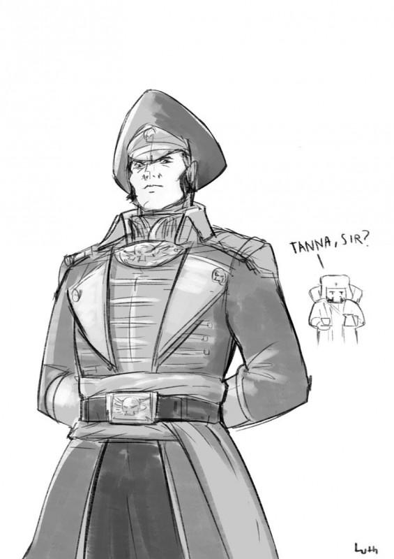 Просто ничем не обоснованная подборка с комиссаром Каином и его друзьями. Ciaphas-Cain-Commissar-(wh-40000)-Astra-Militarum-Imperium-3701641
