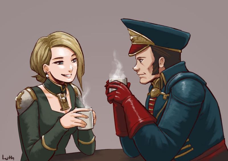 Просто ничем не обоснованная подборка с комиссаром Каином и его друзьями. Ciaphas-Cain-Commissar-(wh-40000)-Astra-Militarum-Imperium-3769582