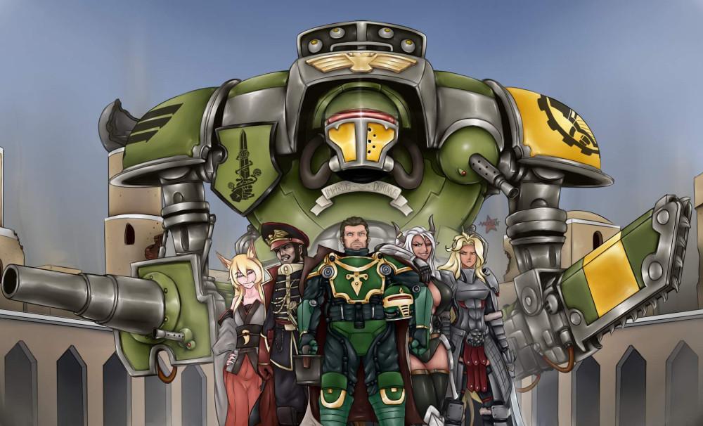 MIXSAN-warhammer-40k-фэндомы-Imperial-Knight-4786106