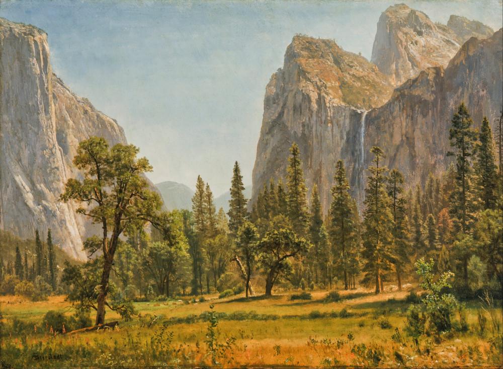 1396226525-albert-bierstadt-bridal-veil-falls-yosemite-valley-california-google-art-project