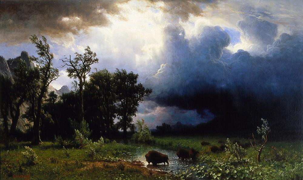 1396226518-albert-bierstadt-buffalo-trail-the-impending-storm