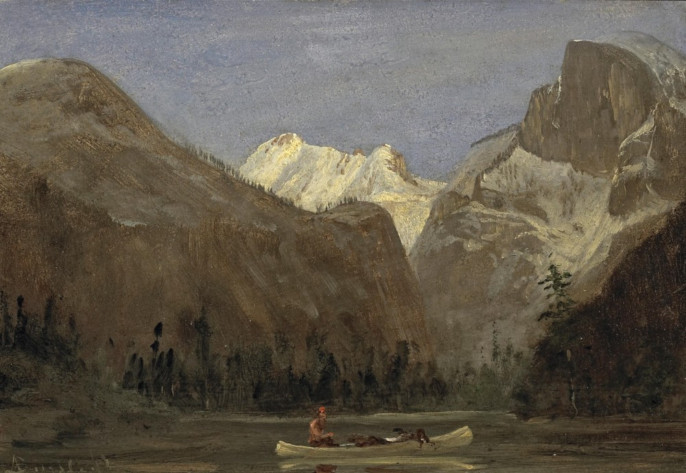 1396226526-albert-bierstadt-boating-through-yosemite-valley-with-half-dome-in-the-distance
