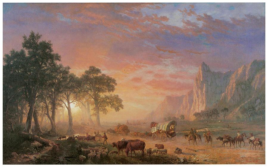 the-oregon-trail-albert-bierstadt