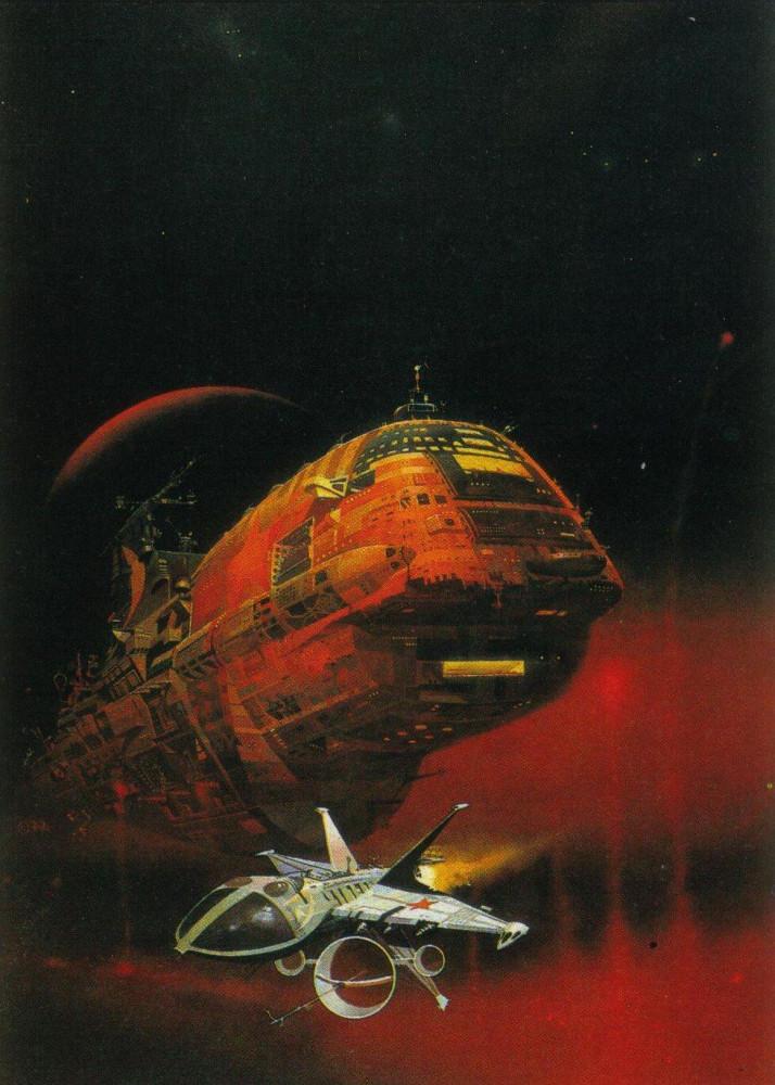retro-science-fiction-разное-Peter-Andrew-Jones-длиннопост-5938864