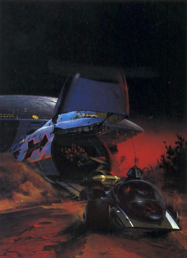 retro-science-fiction-разное-Peter-Andrew-Jones-длиннопост-5938865