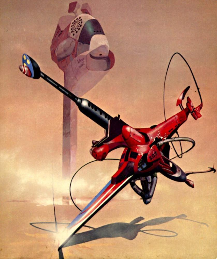 retro-science-fiction-разное-Peter-Andrew-Jones-длиннопост-5938866