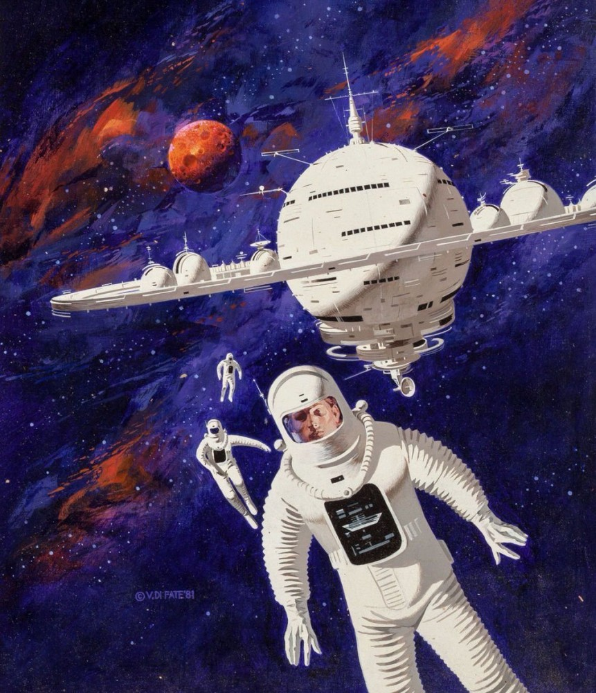retro-science-fiction-разное-Vincent-Di-Fate-artist-5956022