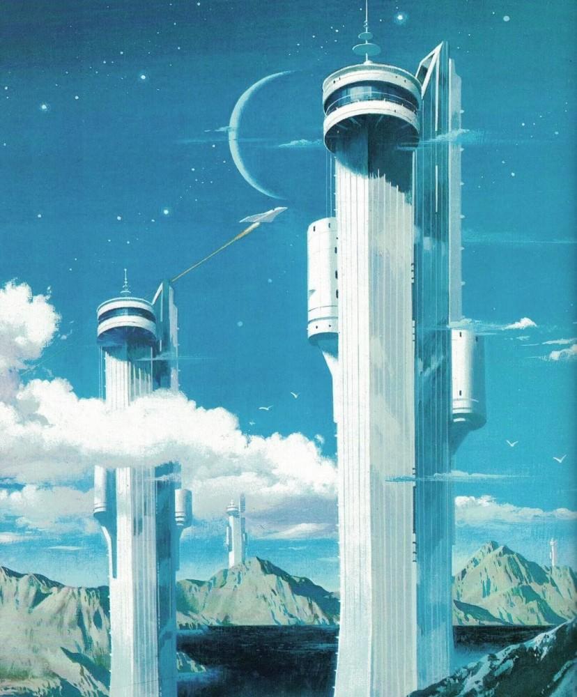 retro-science-fiction-разное-Vincent-Di-Fate-artist-5956024
