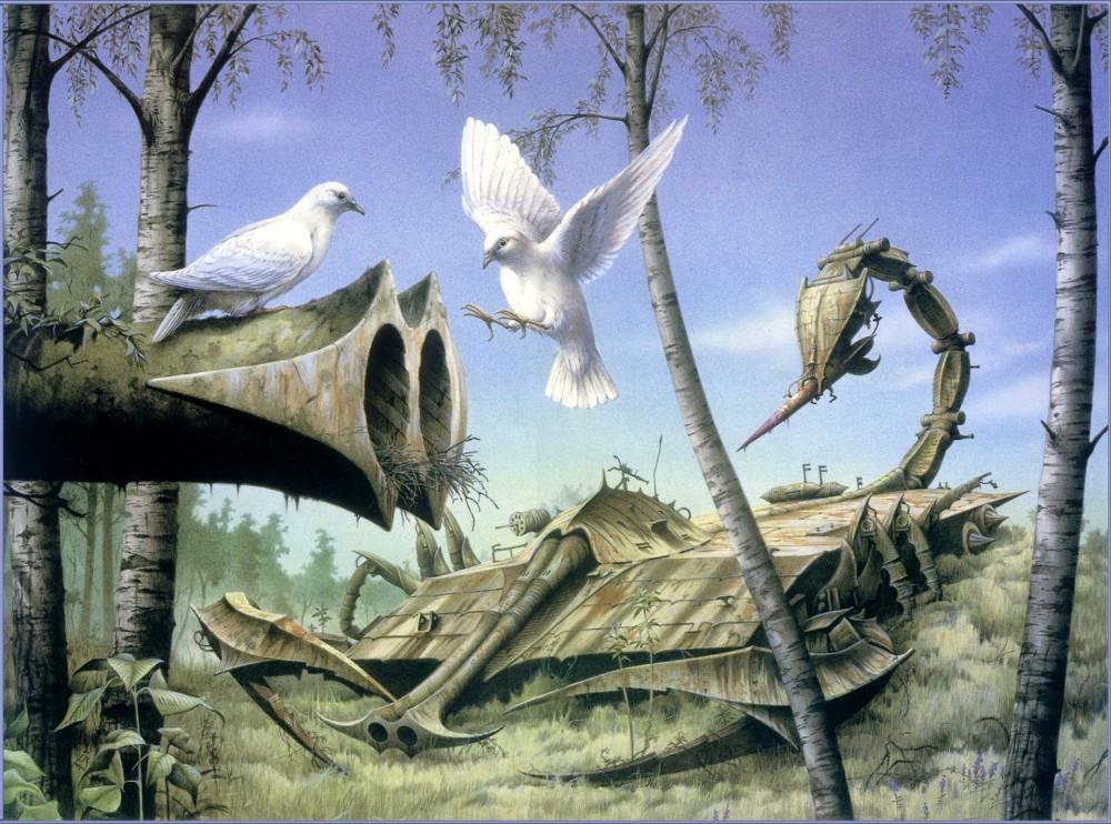 retro-science-fiction-разное-Rodney-Matthews-artist-5958639