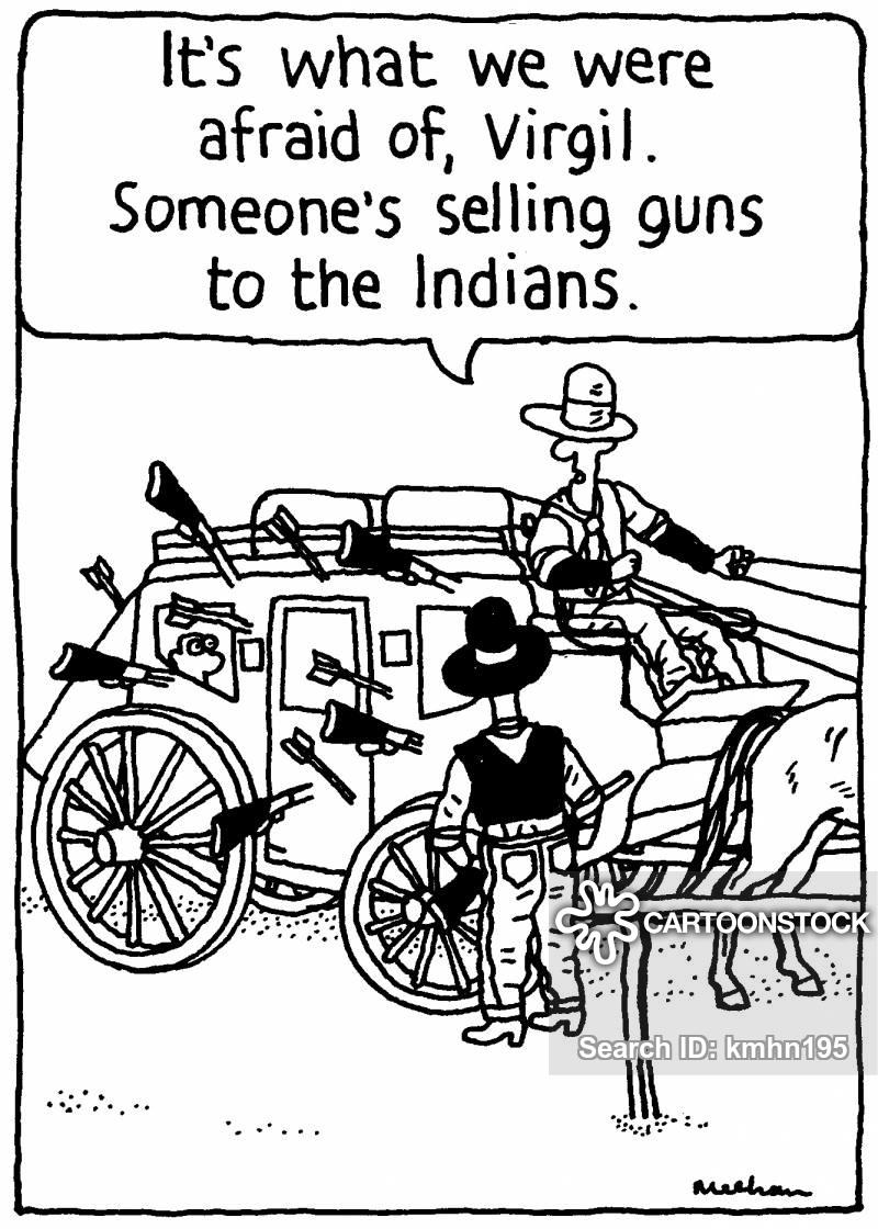 history-cowboys-gun-shoot-shooting-carriage-kmhn195_low