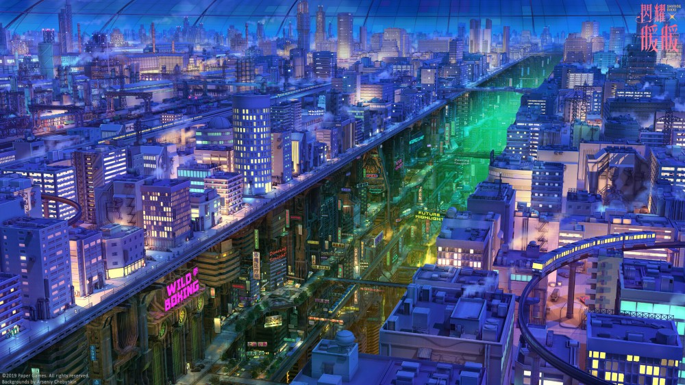arseniy-chebynkin-mechanical-city-night