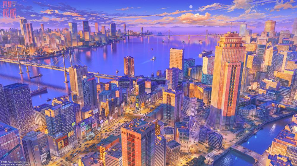 arseniy-chebynkin-modern-metropolis-twilight