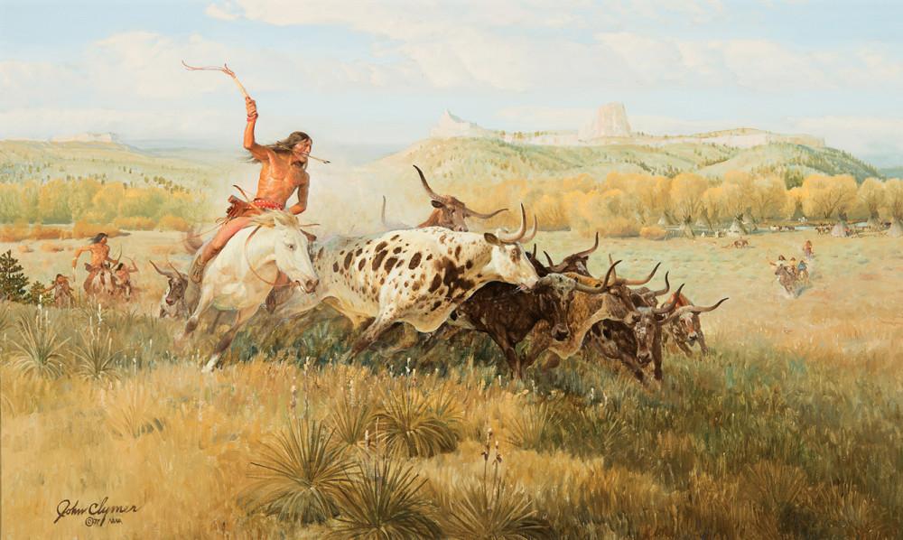 3 John-Clymer-Spotted-Buffalo