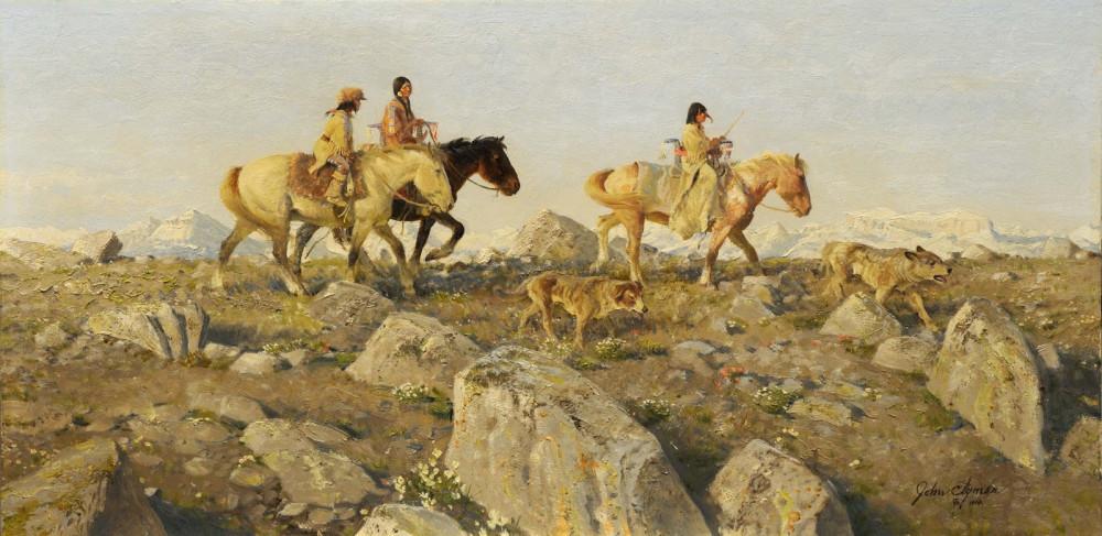 3 Rocky Trail - John Clymer