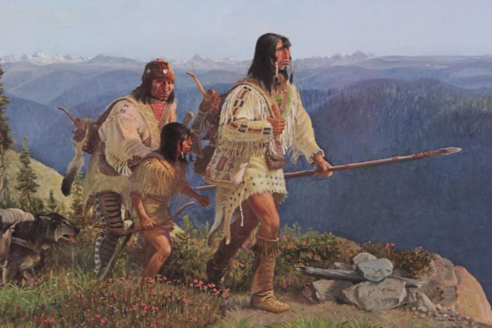 Old Nes Perce trail