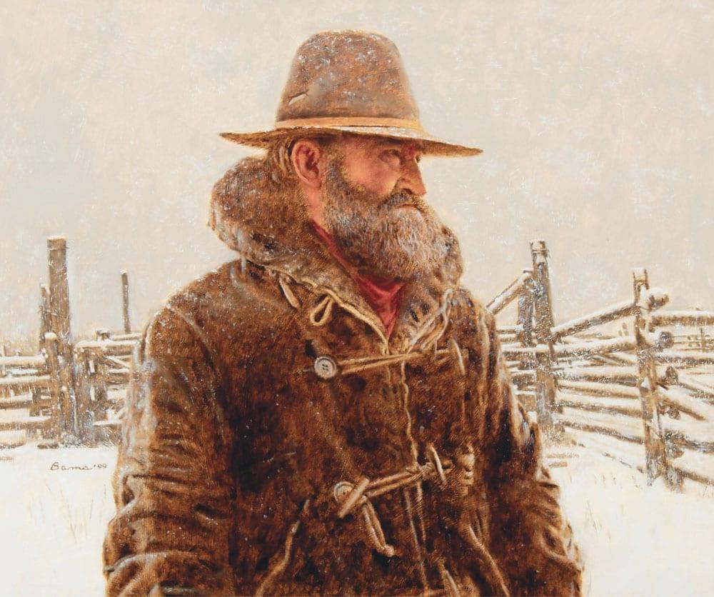 159-James-Bama-Old-Corral-in-Winter-2020